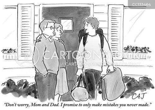 educated cartoon