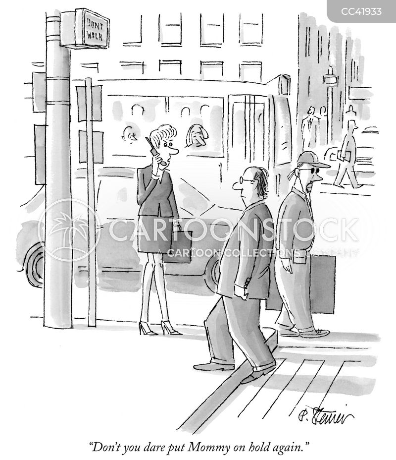 businesswoman cartoon