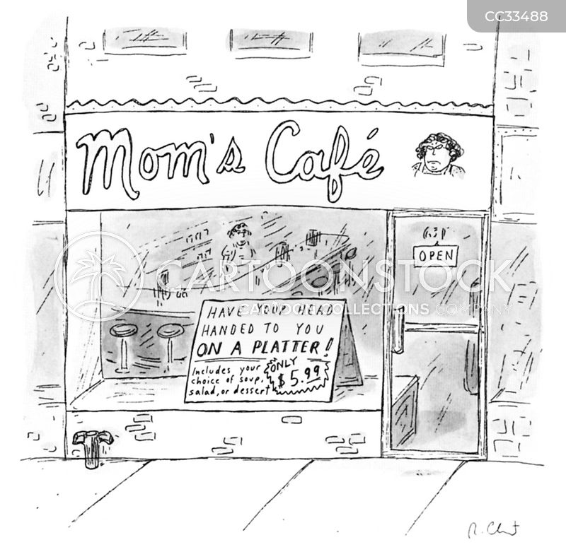 critical mother cartoon