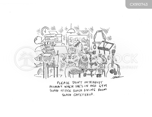 cafeterias cartoon