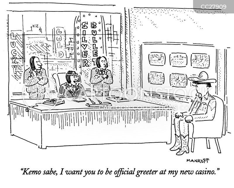 greeters cartoon