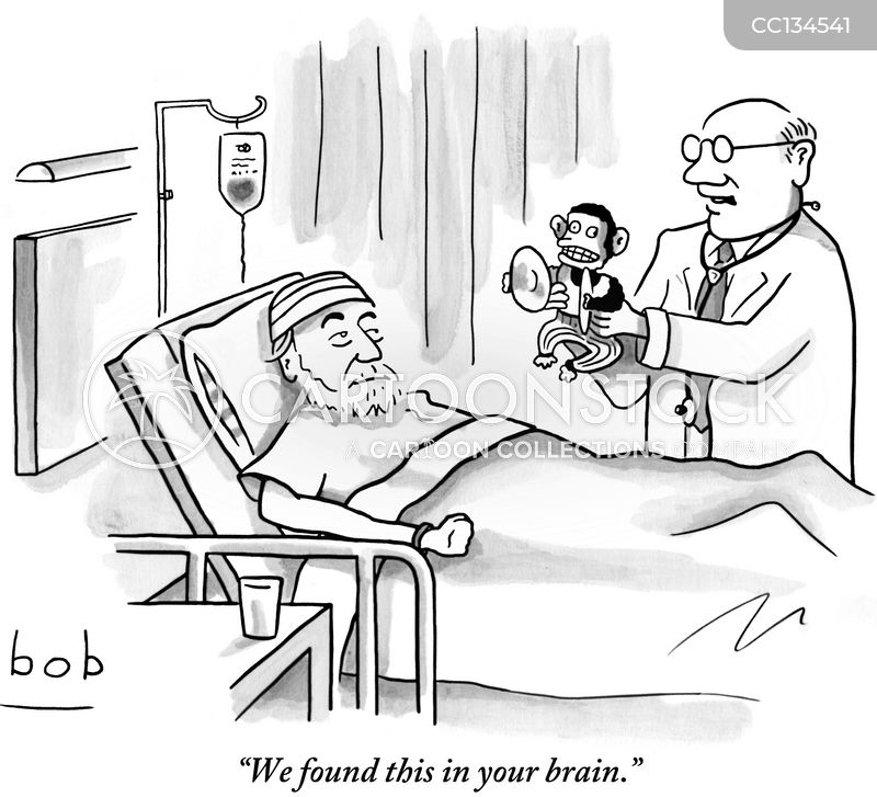 brains cartoon