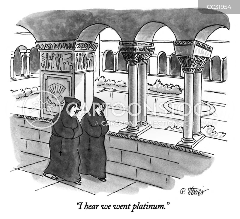 monasteries cartoon
