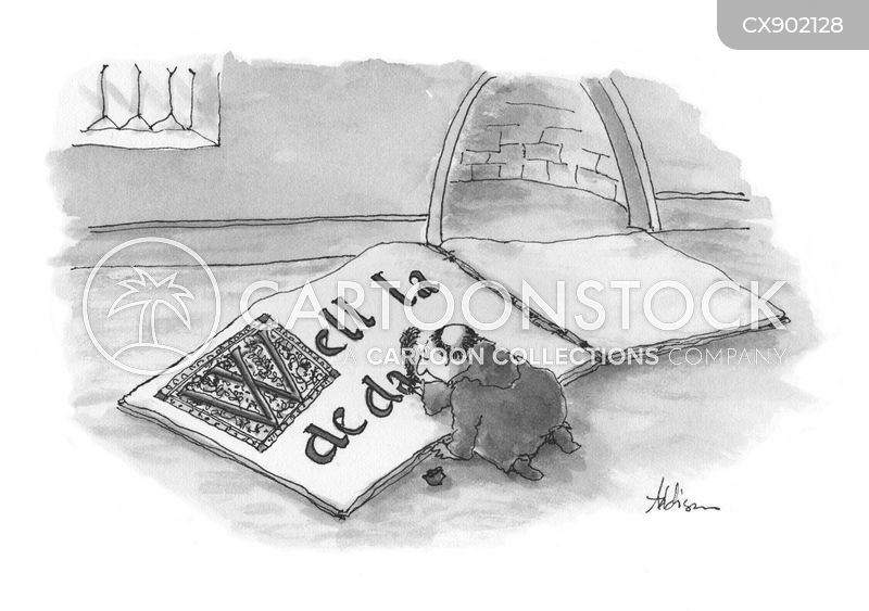 calligraphers cartoon