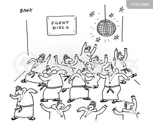 disco ball cartoon