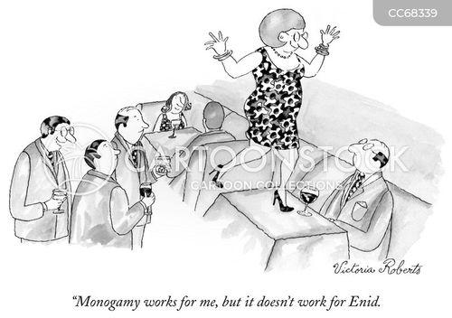 monogamy cartoon