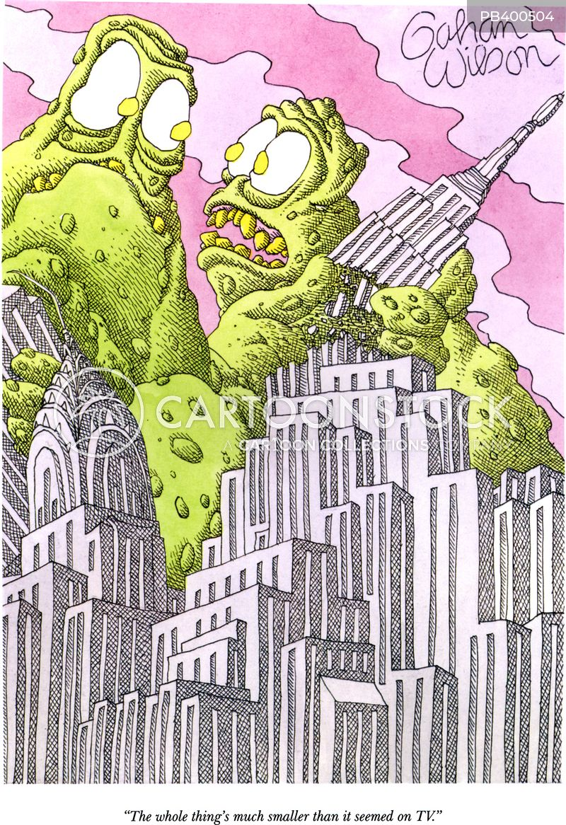 kaiju cartoon