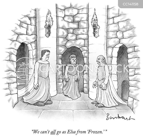 fancy dress parties cartoon