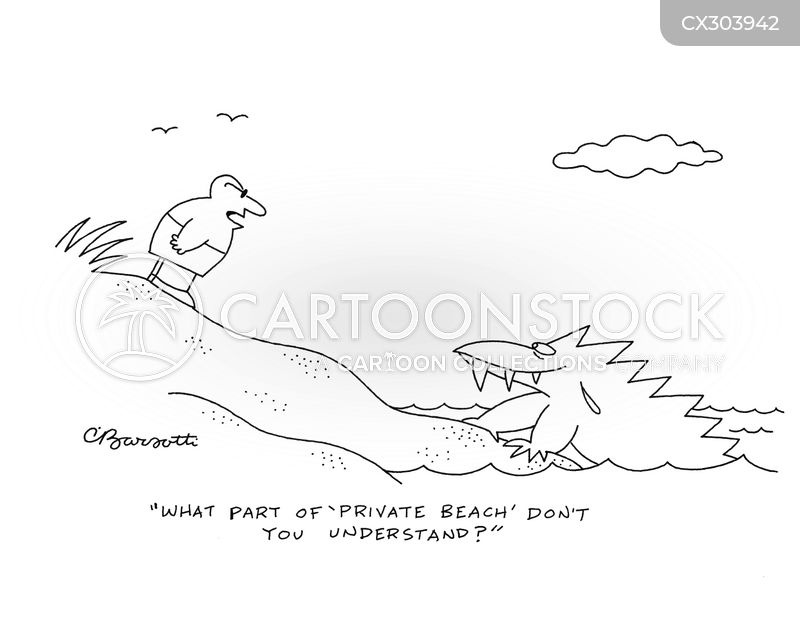 Private Land cartoon