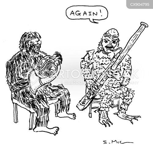 yetis cartoon