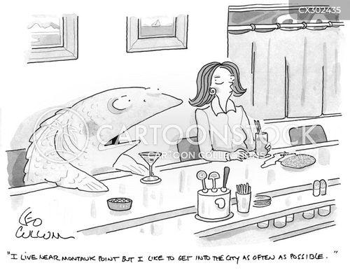 long island cartoon