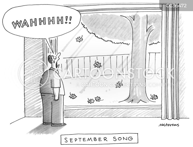 seasonal cartoon