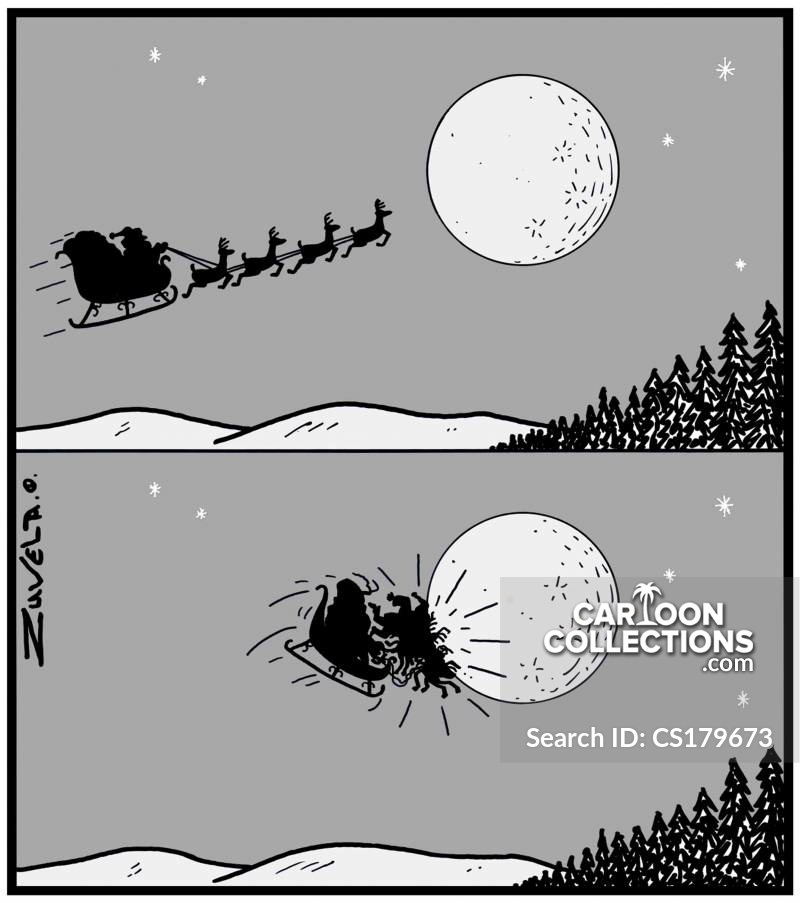 Collisions cartoon
