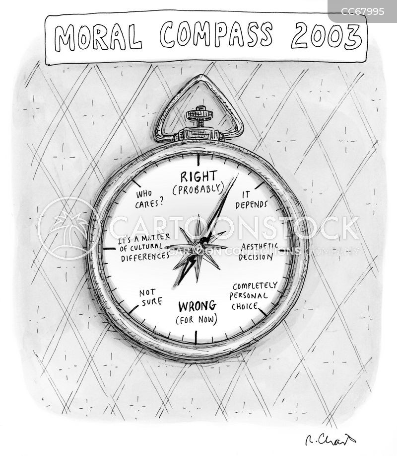 compass cartoon