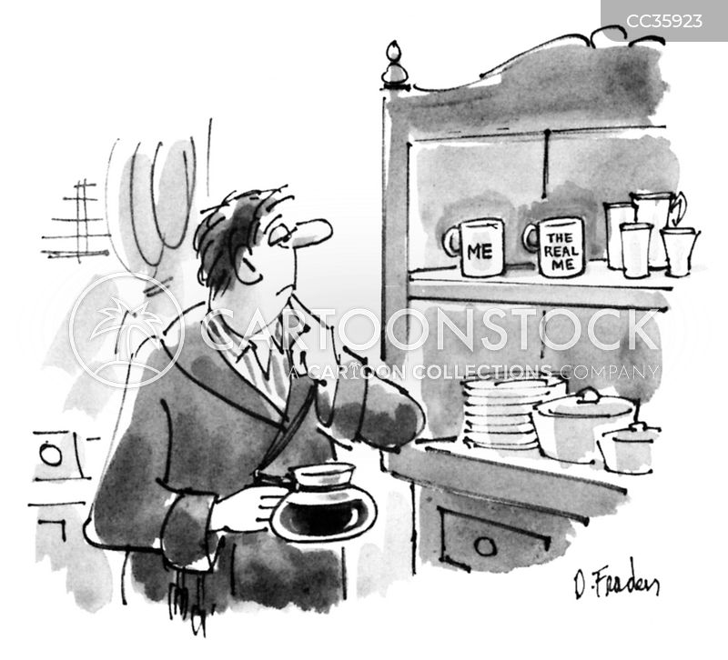 Coffee Pot cartoon