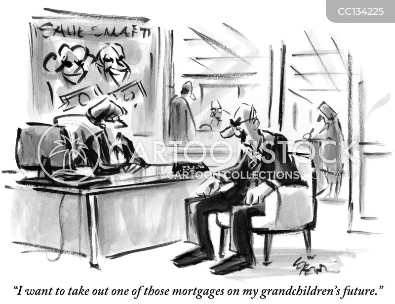Debts cartoon