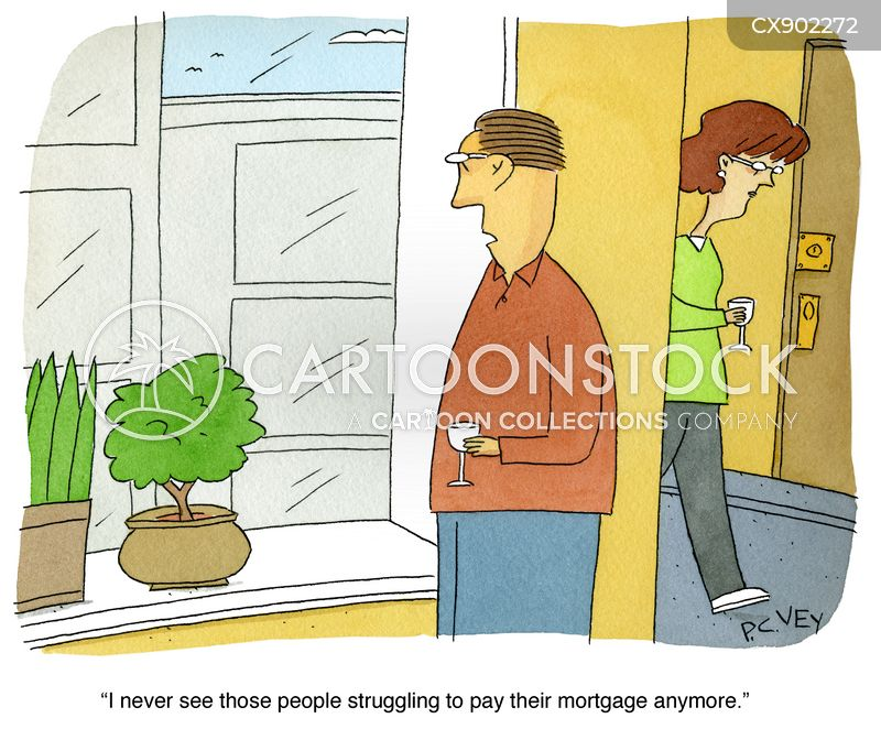 nosey neighbours cartoon