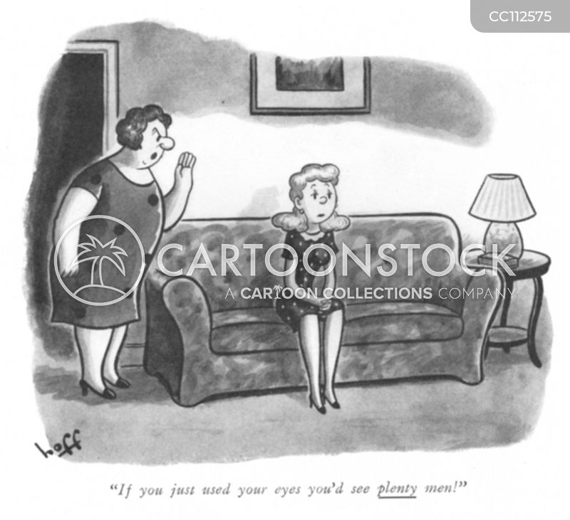 disapproving mother cartoon
