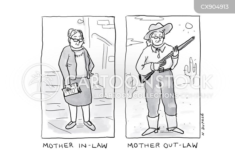 outlaws cartoon