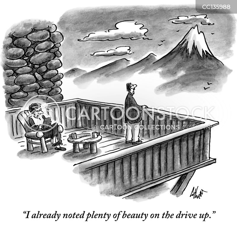 rocky mountains cartoon