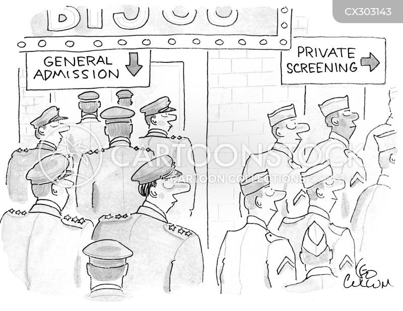 Privates cartoon