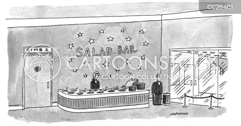 stall cartoon
