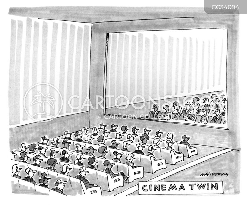 cinemas cartoon