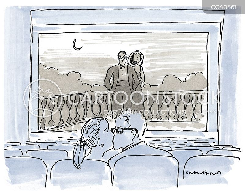 cinema cartoon