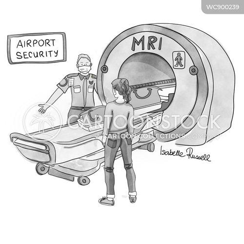 scanners cartoon