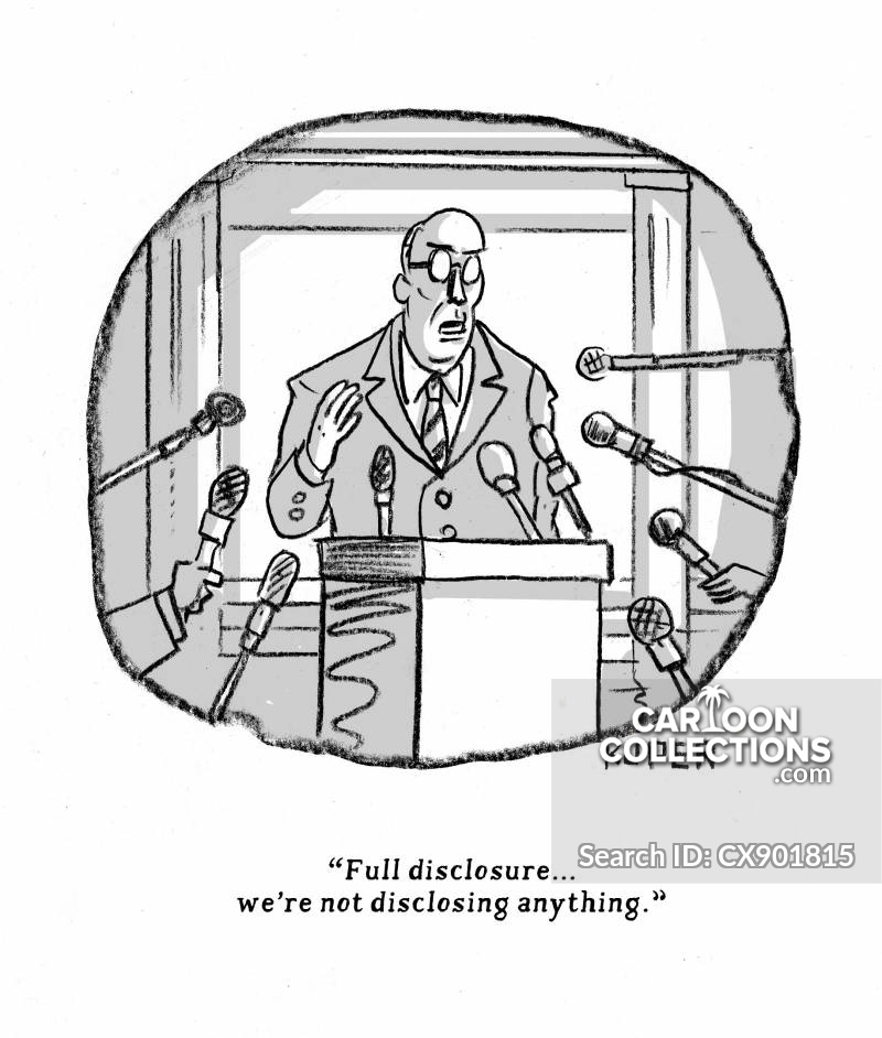 Image result for disclosure cartoon