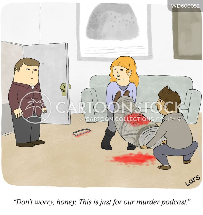 murdered cartoon
