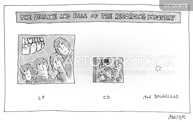 Downloadable cartoon