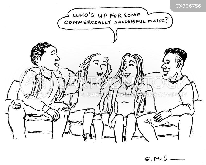 gatherings cartoon