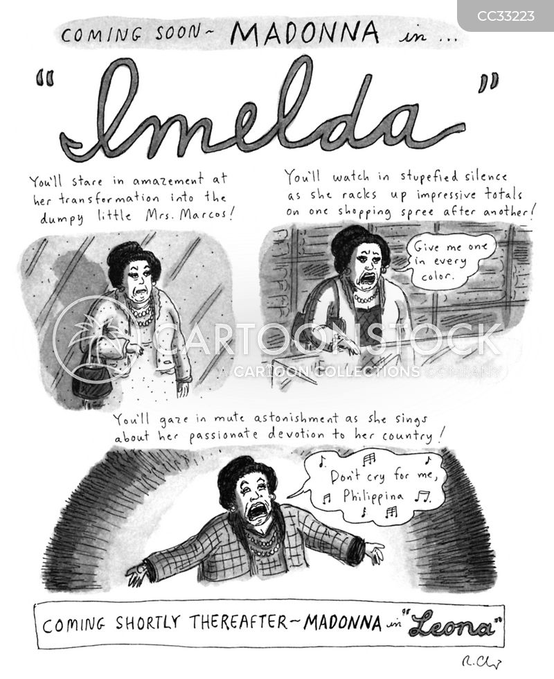 imelda marcos cartoon