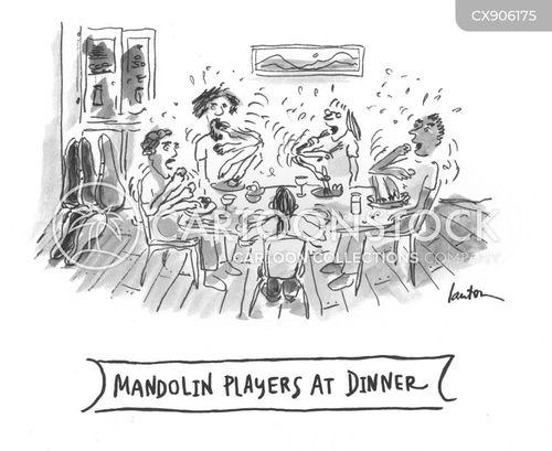 messy eaters cartoon