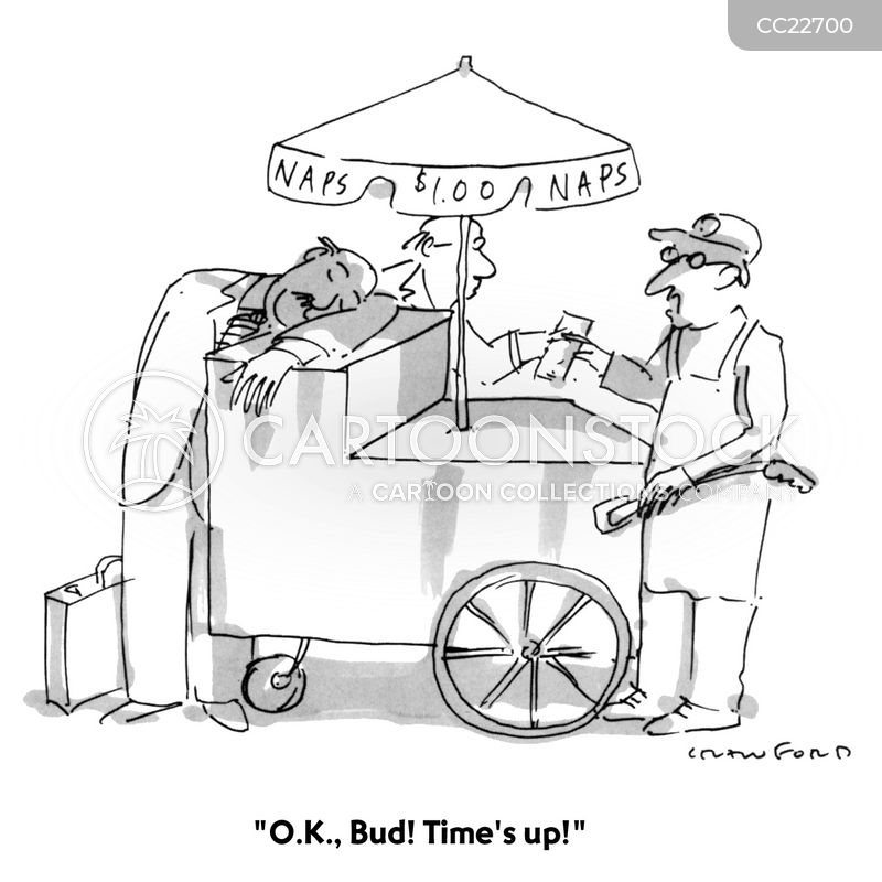food carts cartoon