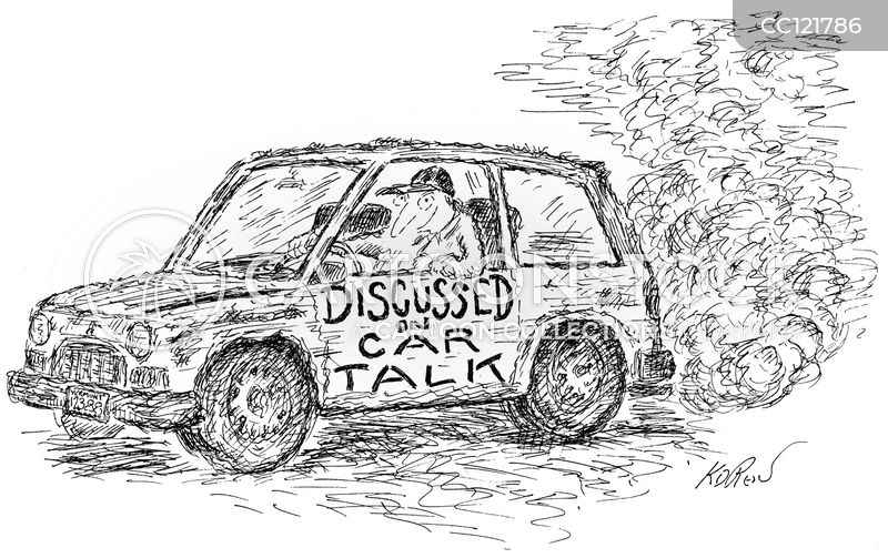 car lover cartoon