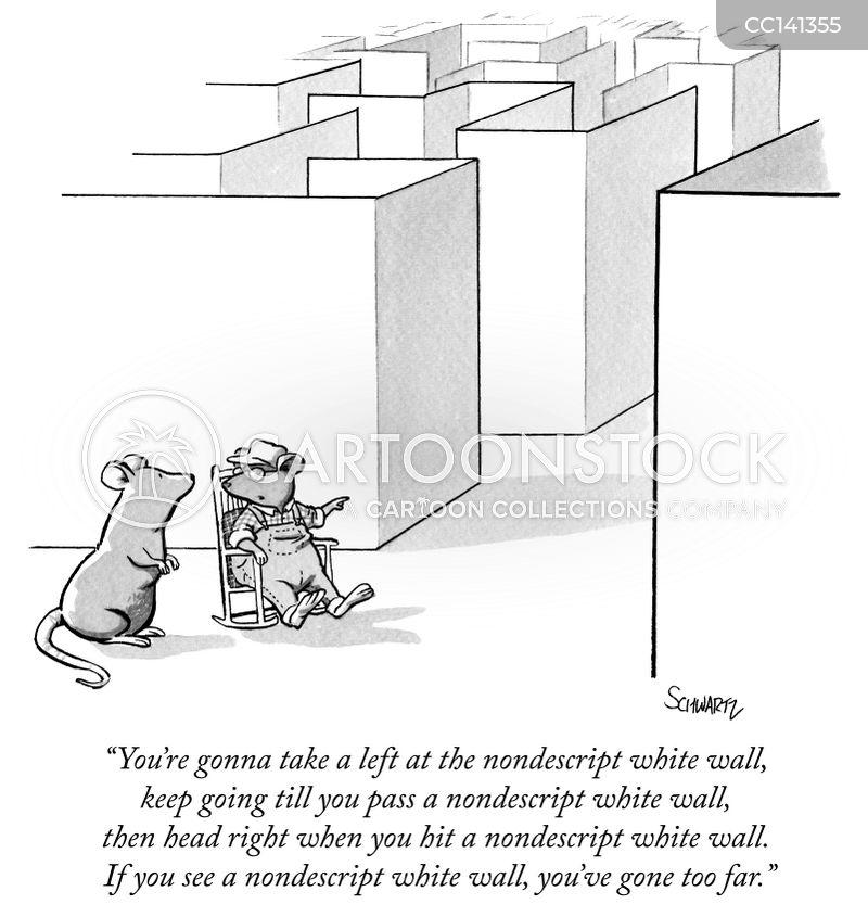 walls cartoon