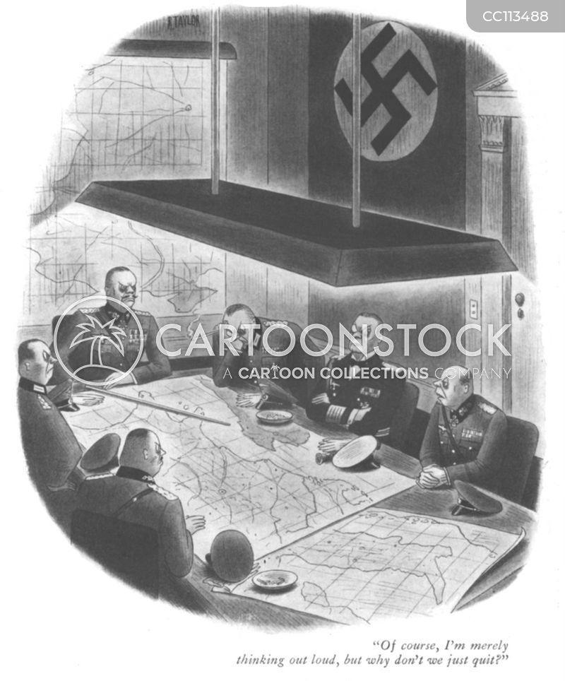 second world war cartoon