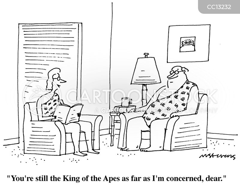 King Of The Apes cartoon