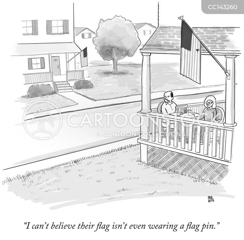 flags cartoon