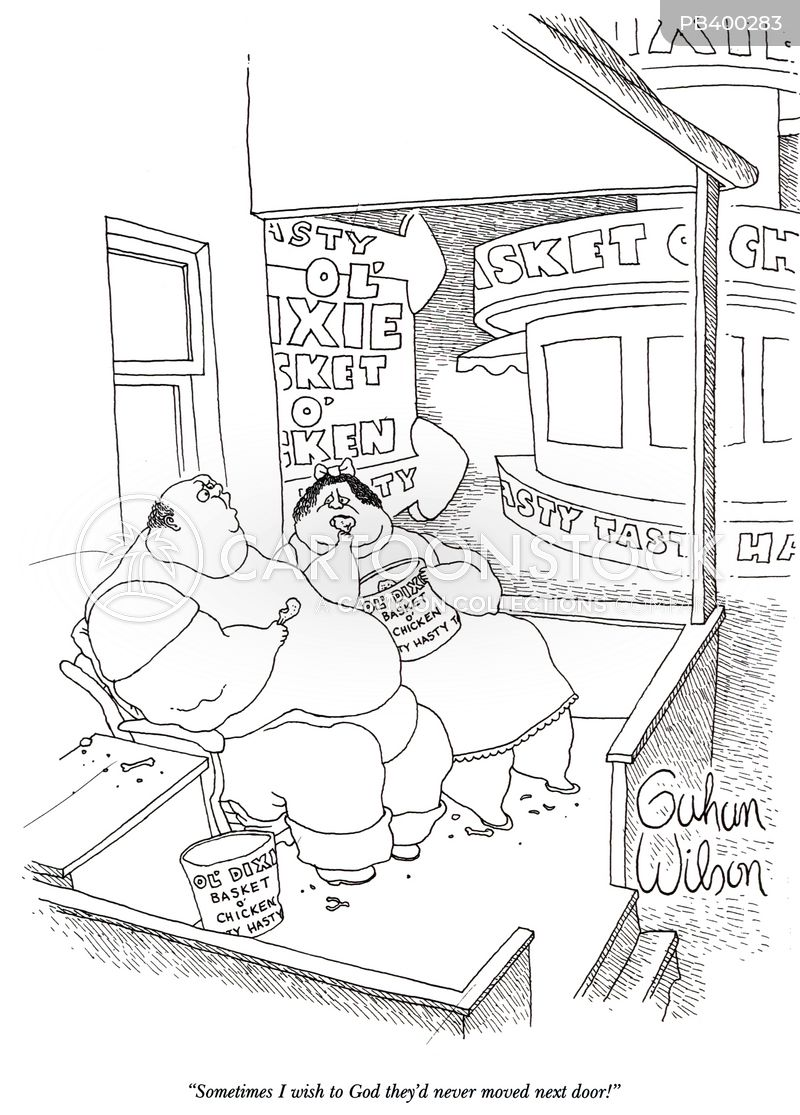 take-away cartoon