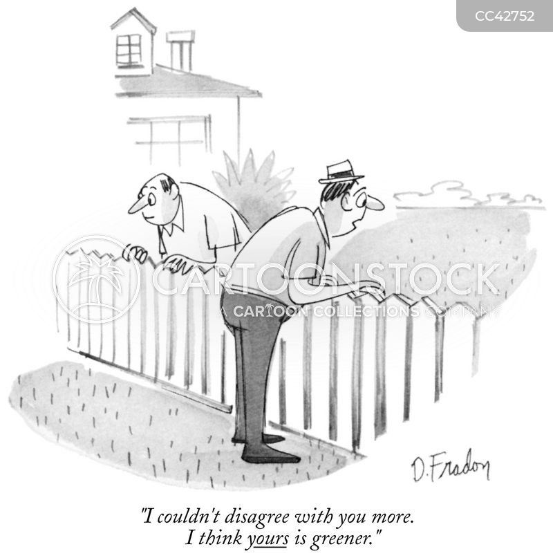 grass is greener cartoon