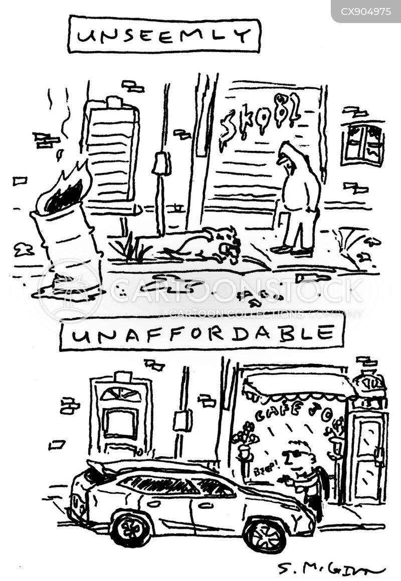 bad neighborhood cartoon