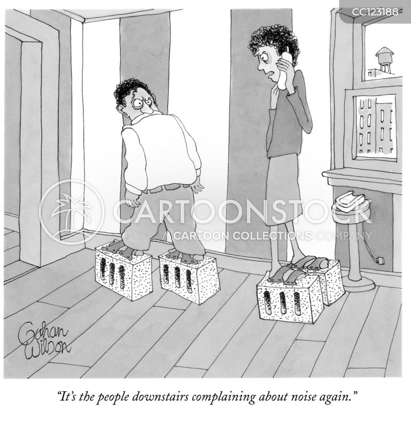 Downstairs Neighbours cartoon