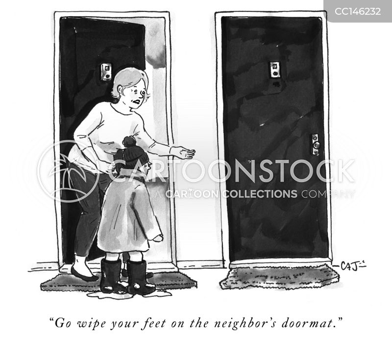 doormats cartoon