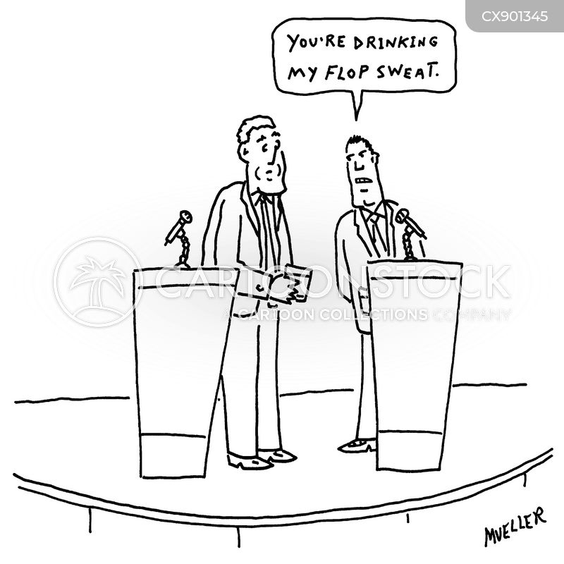 public speakers cartoon