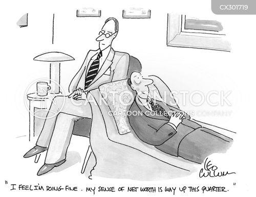 net worth cartoon