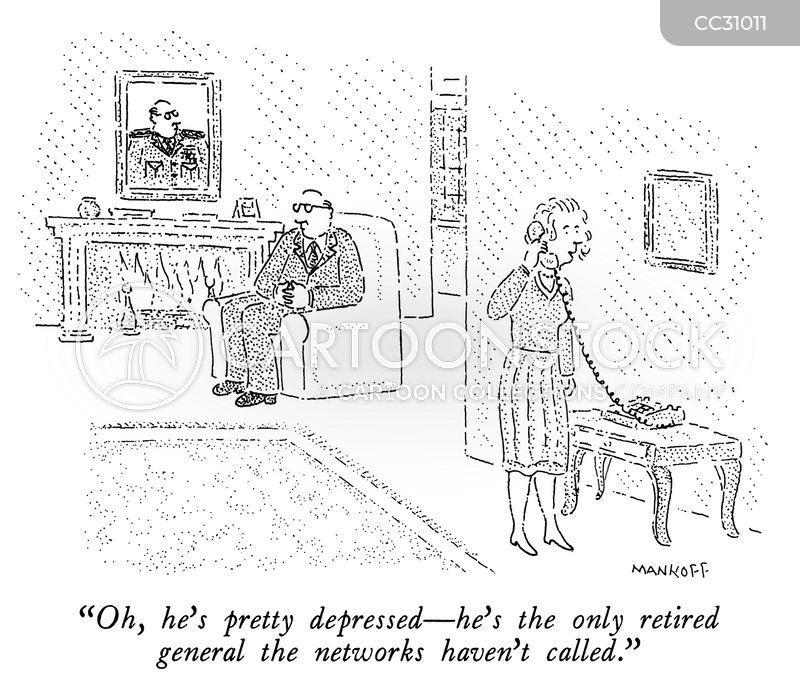 retired general cartoon