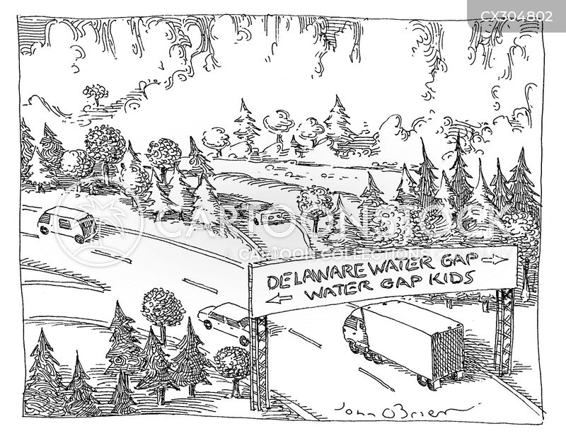 delaware cartoon